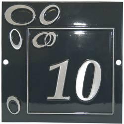 Numéro de maison – modèle NUM12