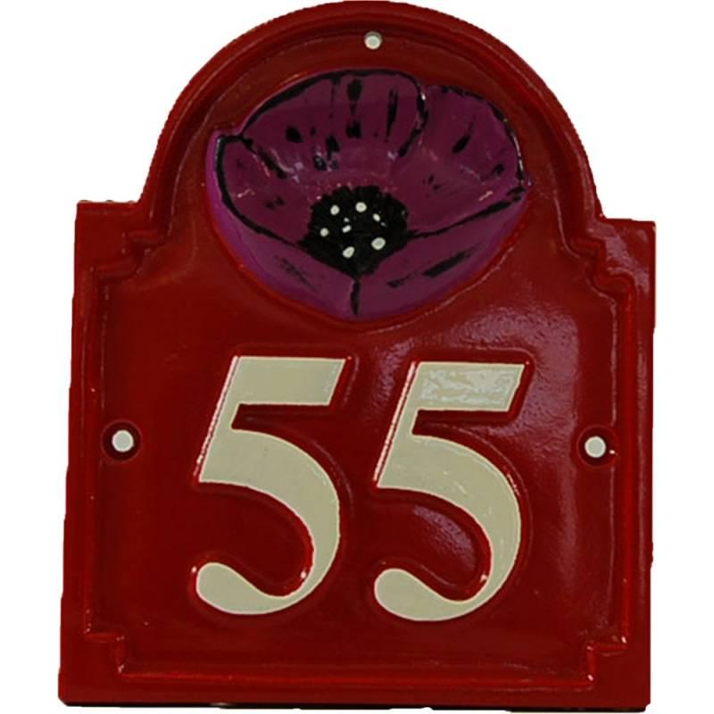 House number - model NUM1 - fonderie-deco.com