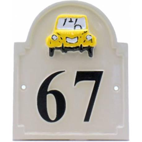 Numéro de maison – modèle NUM1