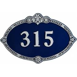 Numéro de maison – modèle 1