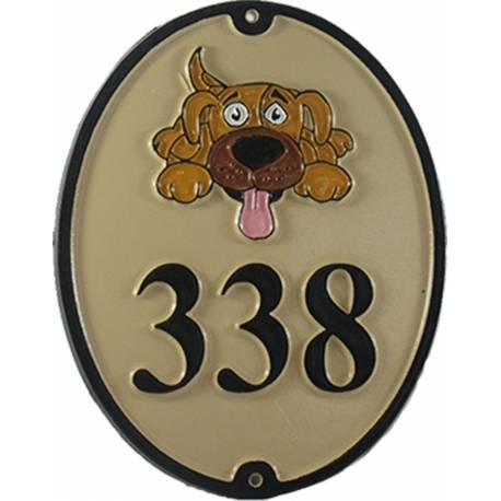 Numéro de maison – modèle NUM8