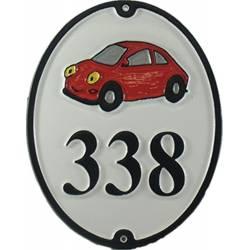 Numéro de maison – modèle NUM8-VOIT